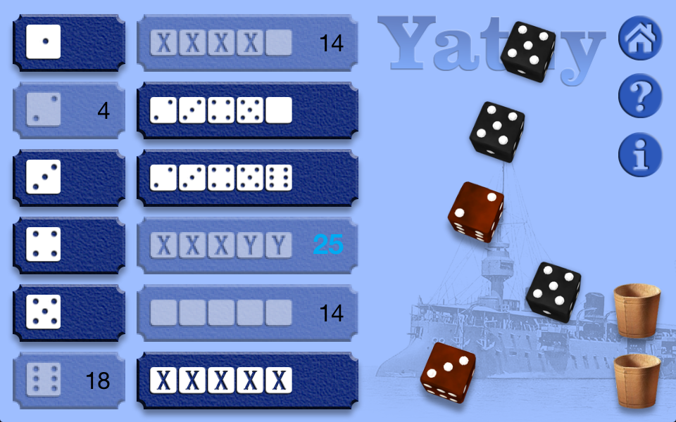 Screenshot Yatzy Deluxe